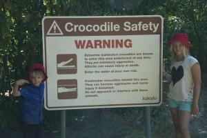 Varning för Krokodiler lovisa och gustaf
